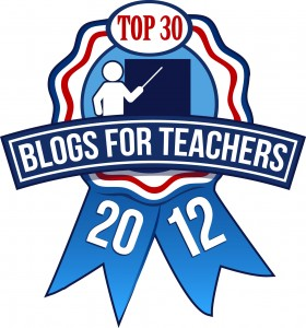 Top 30 Blogs for Teachers 2012