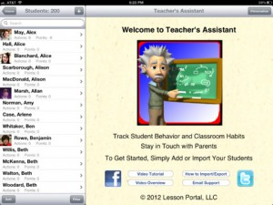 teachers assistand pro for ipad