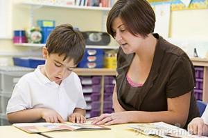 reading teacher